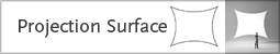 projection surface tab