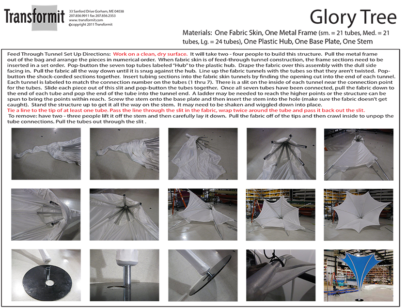 Glory Tree Directions 2014 840