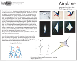 Airplane Wing Directions 255