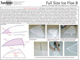 Full Size Ice Floe B Feed Thru Tunnels Directions 2011 255