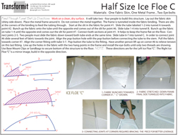 Half Size Ice Floe C Feed Thru Tunnels Directions 2011 255