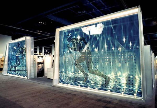 Client and Design: Avalon Exhibits Transformit Ready-Made Dynamics Pablo Walls