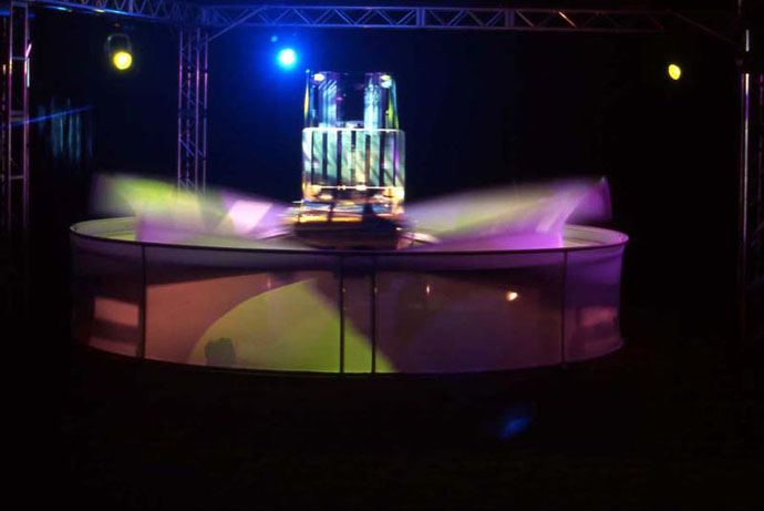 Fabric structure, custom, reveal, kinetic
