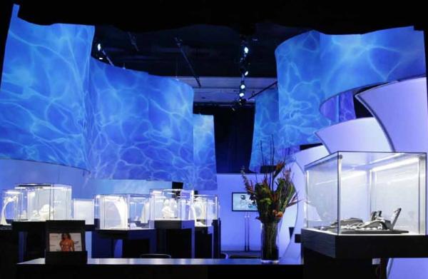 jewelry exhibit, rental, environmental graphics,Natura, Fascinating Rhythms, Transformit, Poolish