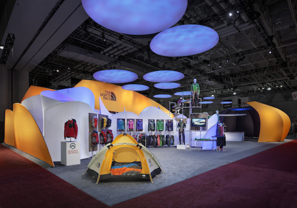 The North Face at Outdoor Retailer Winter Market 2011