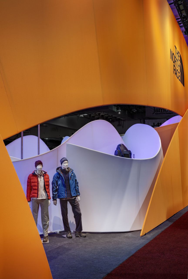 The North Face at Outdoor Retailer Winter Market 2011, view from exterior