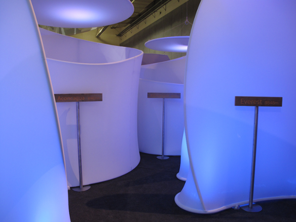 With four conference rooms next to each other, acoustic liner was important to keep conversations private.