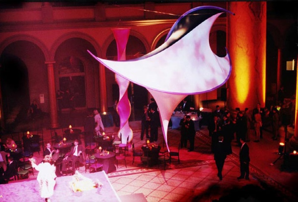 fabric structure, ready-made, events, Smithsonian Institution