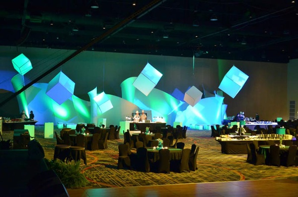 fabric structure, ready-made, events, crescendo, tremolo, Marriott World Center in Orlando, FL