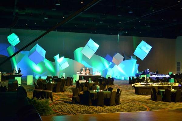 fabric structure, ready-made, events, crescendo, tremolo, Marriott World Center in Orlando, FL