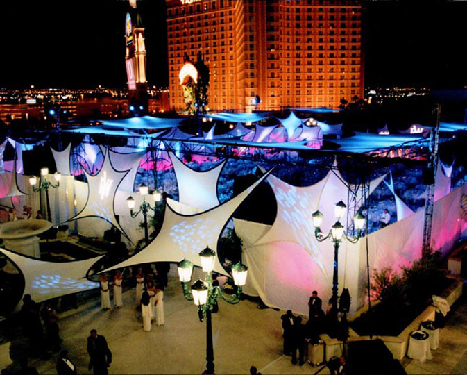 fabric structure, ready-made, events, wings, Las Vegas, NV