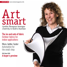 Art Smart IFAI Specialty Fabrics Review article about Cindy Thompson