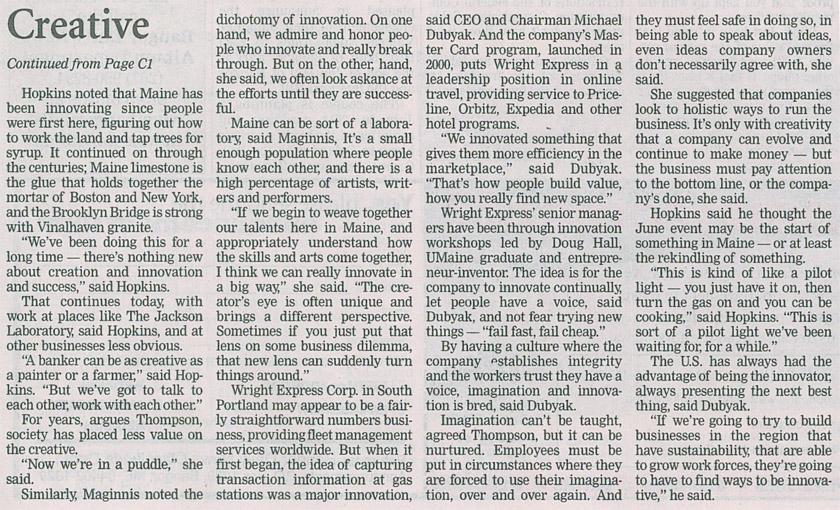 Bangor Daily News 04   02 03   11 2