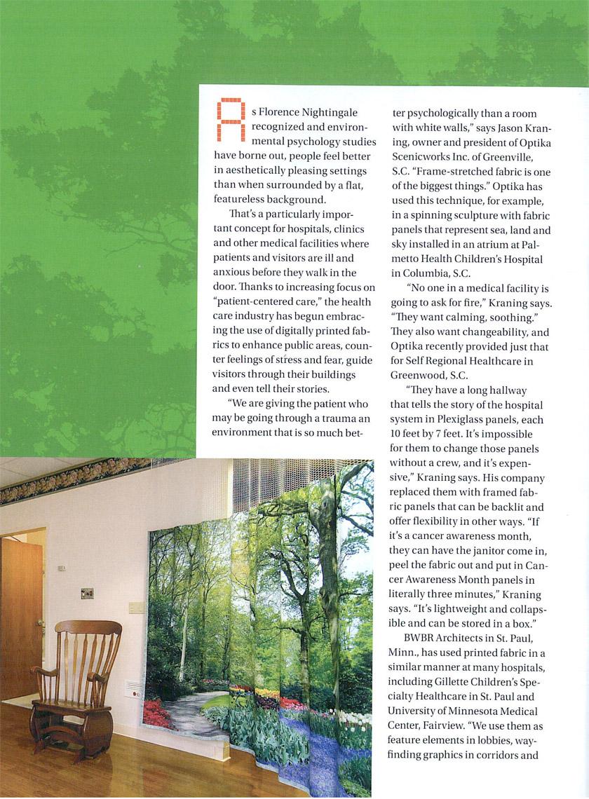 Fabric Graphics, Jan Feb 2011 pp18 25 2