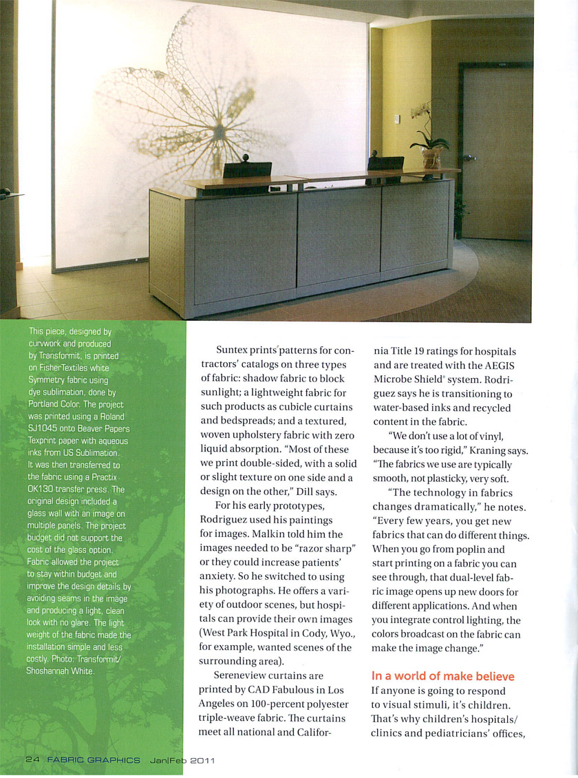 Fabric Graphics, Jan Feb 2011 pp18 25 5