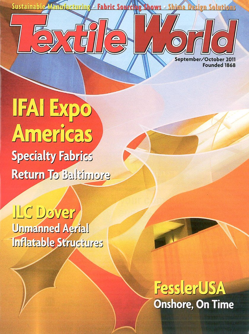 Textile World Sept Oct. 2011