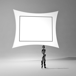 Projection Screen II 14x17 255