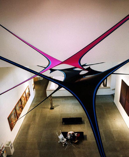 Fabric Structure, custom, art, Portland Museum of Art, Portland, ME