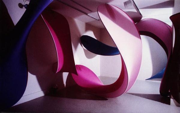 Fabric Structure, custom, art, Cambridge Art Association, Cambridge, MA