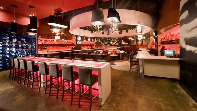 Fabric structures, custom, acoustic ring, Client: Dawson Wallace, Design: West Edmonton Mall Associates