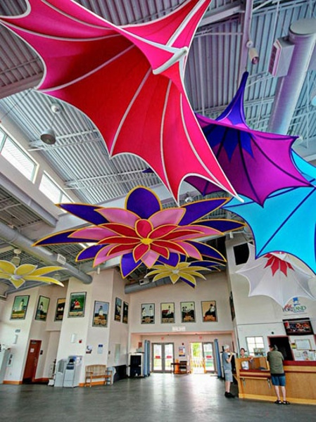 Fabric structures, ready-made, Dazzle, Morning Glory