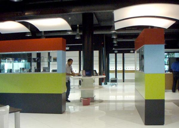 Fabric structures, custom, acoustics, Client: Pavlik Design,