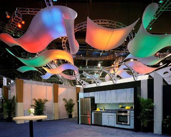 Fabric structures, ready-made, Fascinating Rhythms, canopy, Client: Phoenix Presentations.