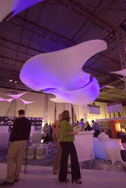 Fabric structures, ready-made, Dream Scapers, Client: VOA Associates, HI Connect, Nashville, TN