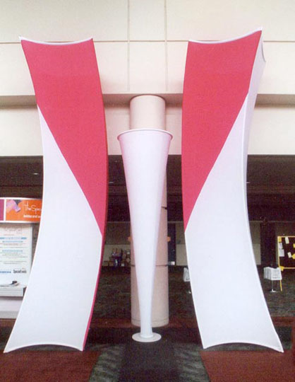Fabric structures, ready-made, Tangos, Staccato,