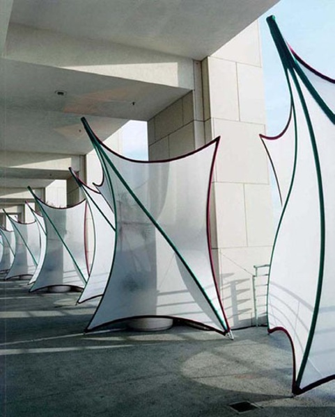 Fabric structures, ready-made, entryways