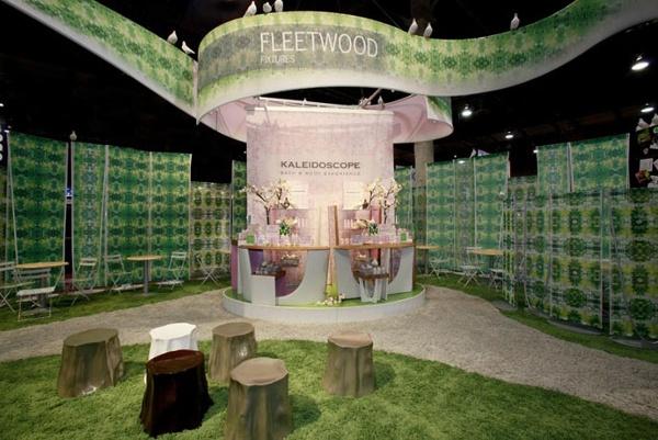 Fabric structures, custom, exhibit, graphics, Client: