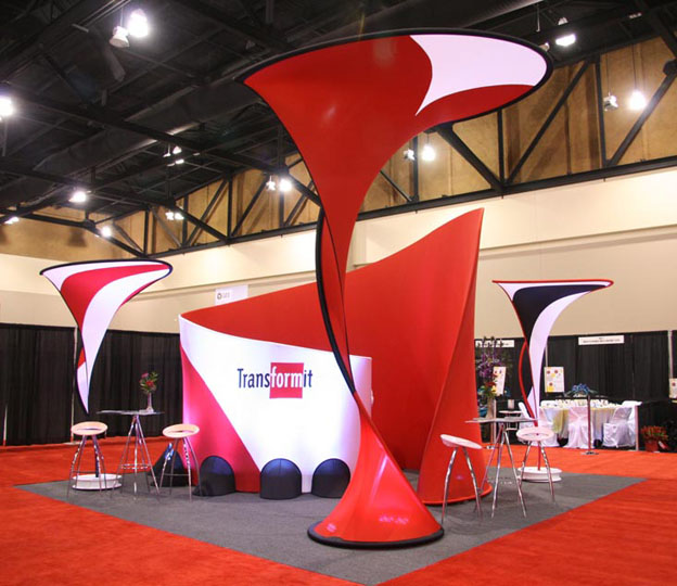 Fabric structures, ready-made, Hug Conference room, Kiss, Big Kiss