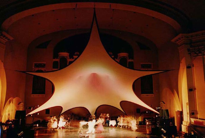 Fabric Structures, Ready-Made, Stages, Client: Merrill Auditorium.