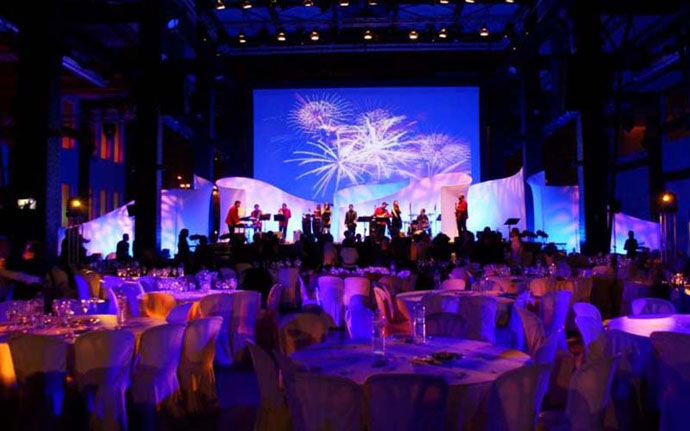 Fabric Structures, Ready-Made, Stages, Tremolo, Grace Note, Crescendo, Client: Magrada Proyectos for Talisman