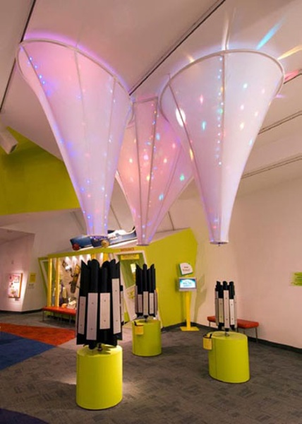 Fabric structures, custom, museum, Strong National Museum of Play, Rochester, NY
