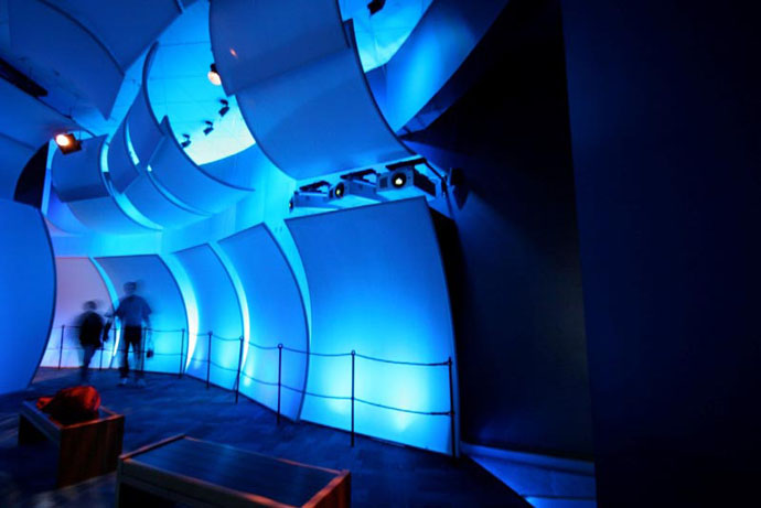 Fabric structures, custom, museum, Mariners' Museum, Design: Batwin + Robin