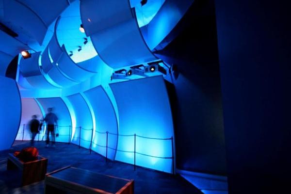Fabric structures, custom, museum, Mariners' Museum, Design: Batwin + Robin