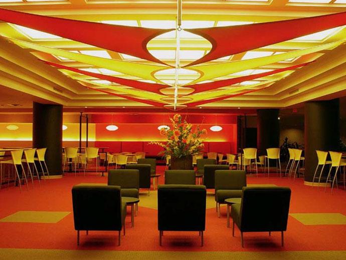 fabric structure, custom, architecture, daylighting, Alex Kaluzshner Design for Mack-Cali Realty