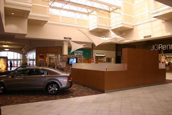 Fabric structures, ready-made, malls, Greenwood Park Mall, Greenwood, IN