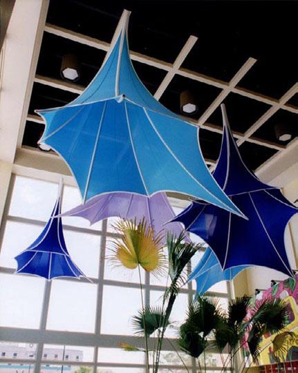 Fabric structures, Ready-Made, malls, organics, Client: Sanoja, Rizek & Asociados