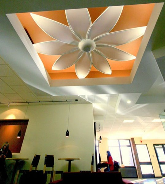 This lighting soffit comes alive with a ready-made Dazzle fit to order.