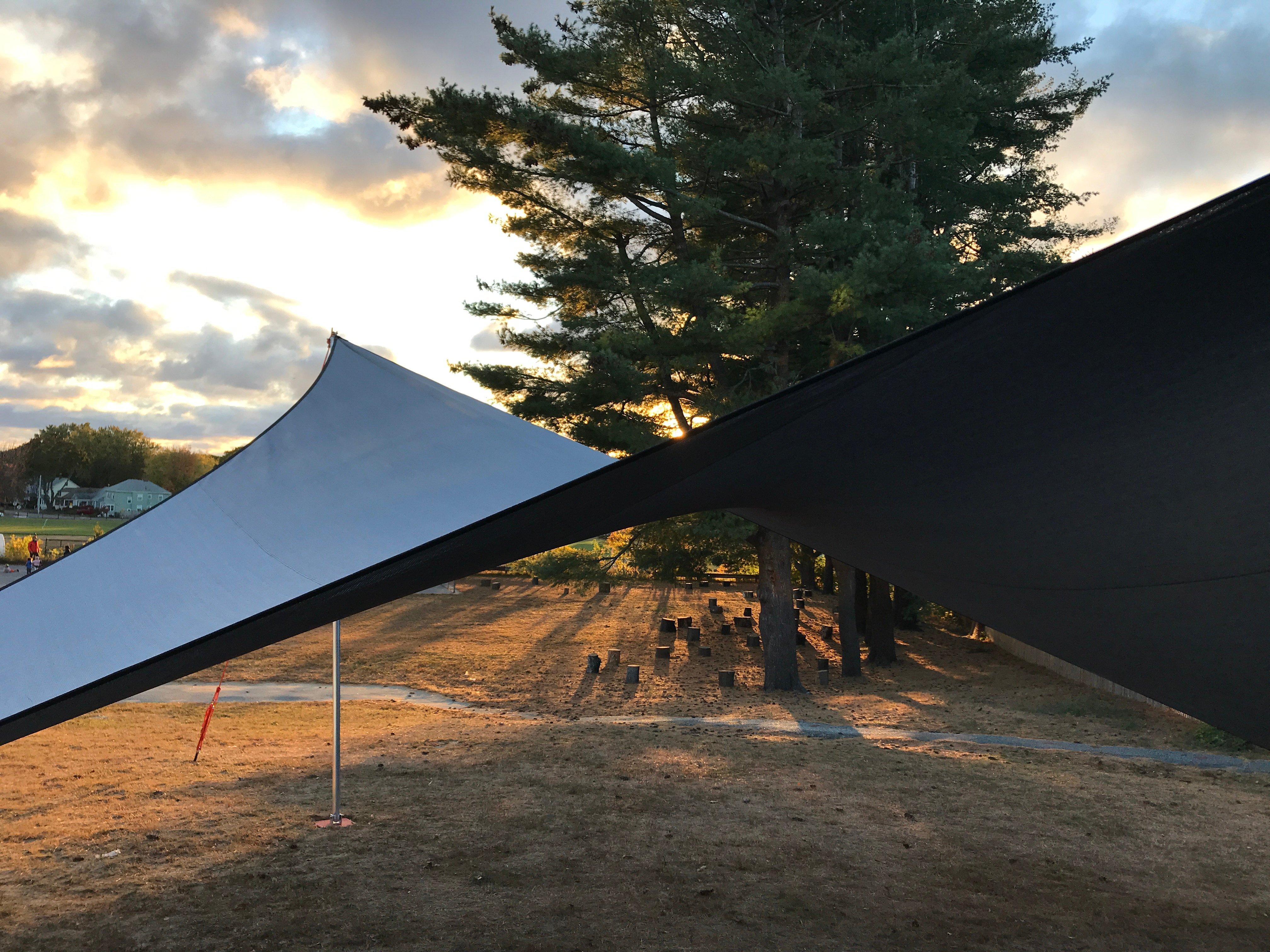 Maine Outdoor Classroom Sunset