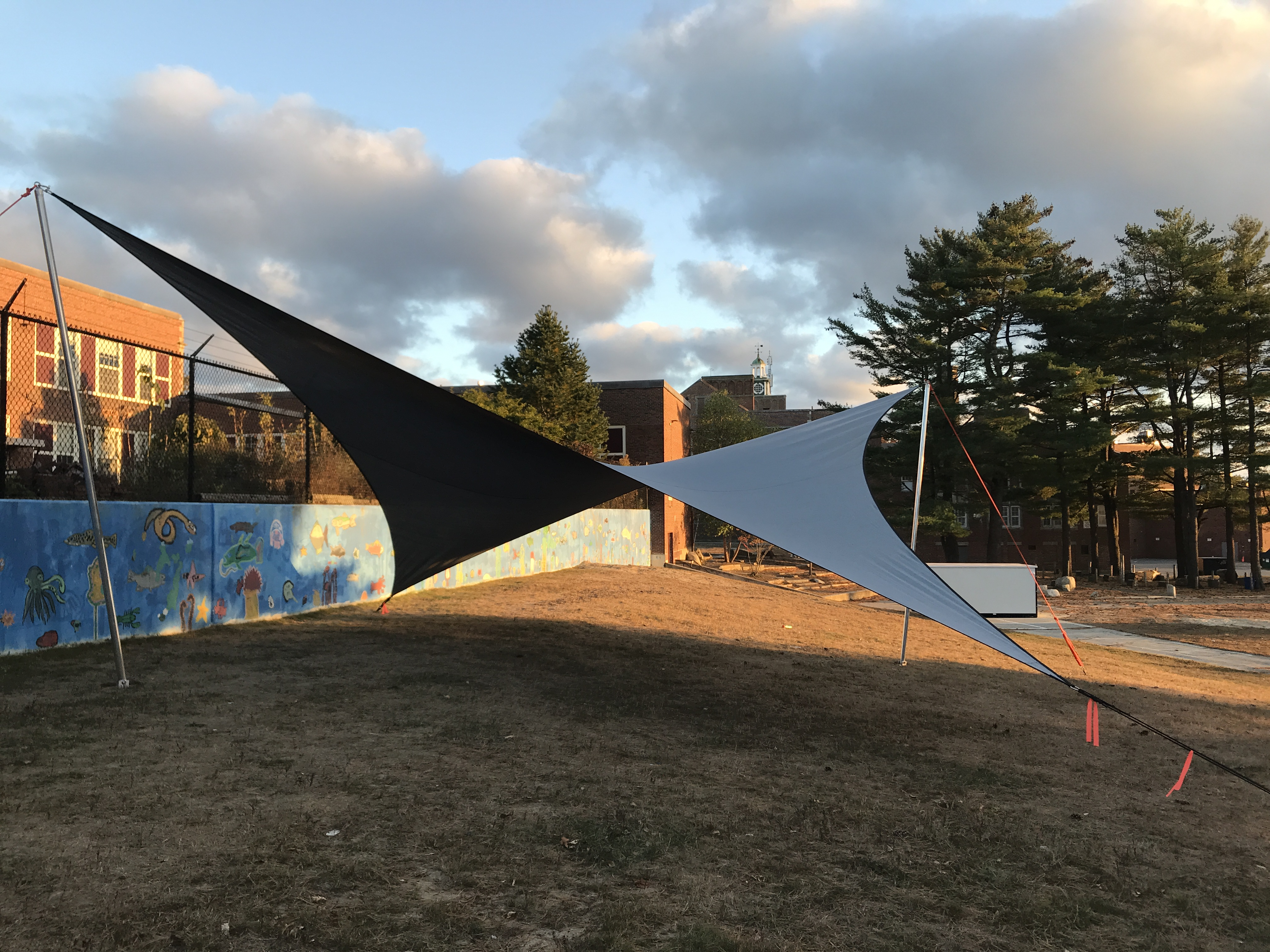 Portland Outdoor Classroom Shade Wing