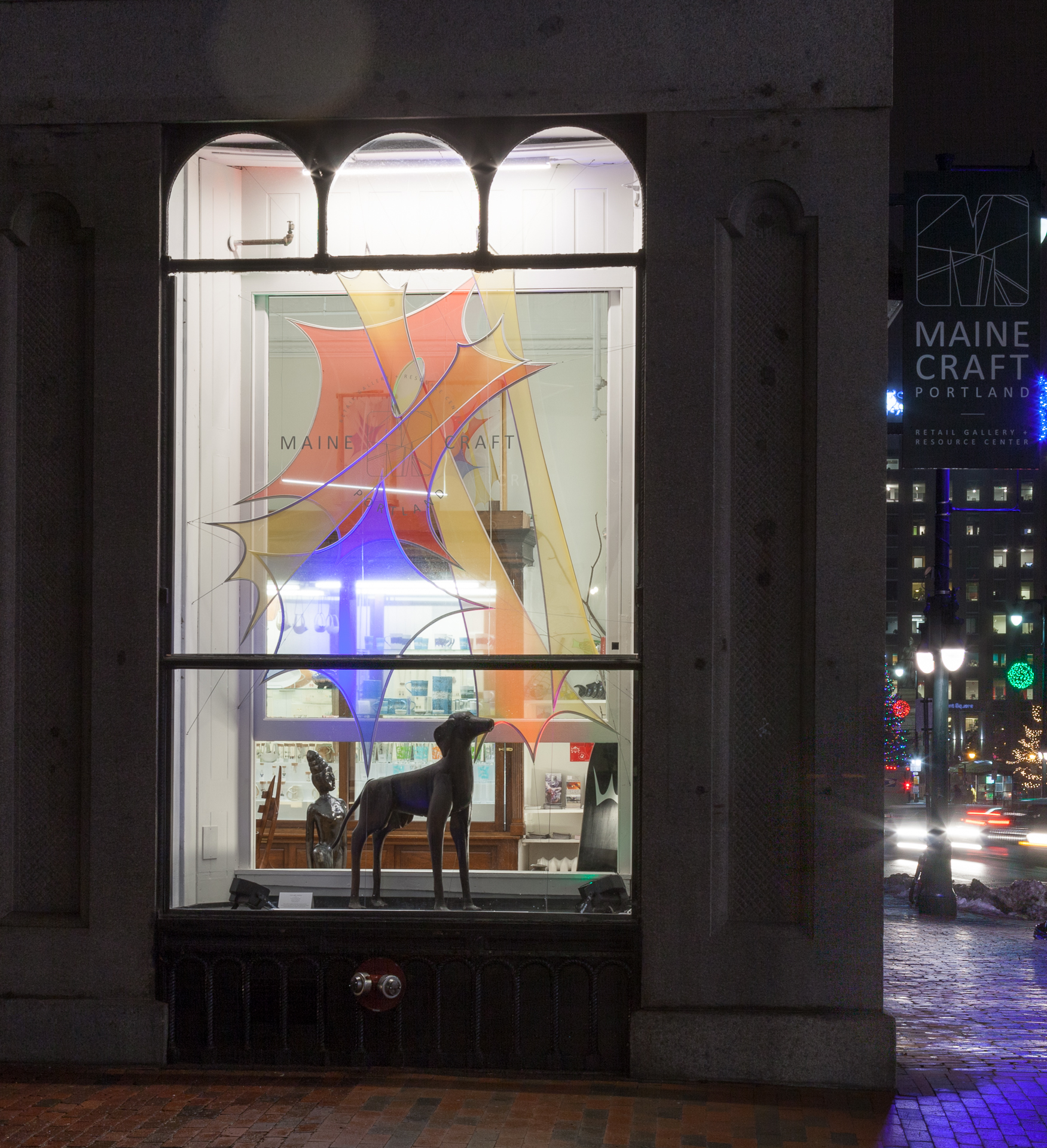 Maine Craft Portland - window 3