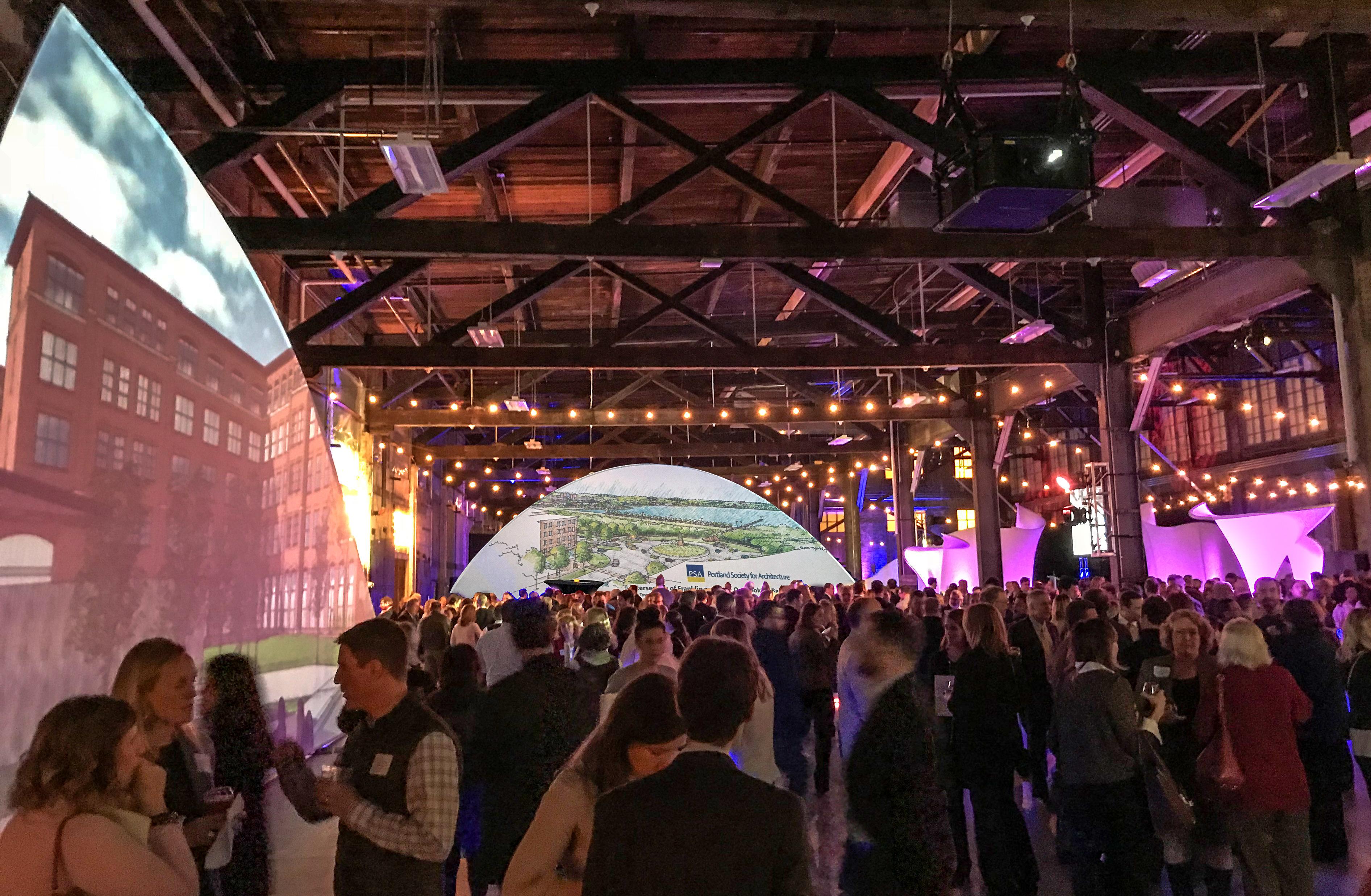 ChamberofCommerce Imagine Portland 2018 IceFloe